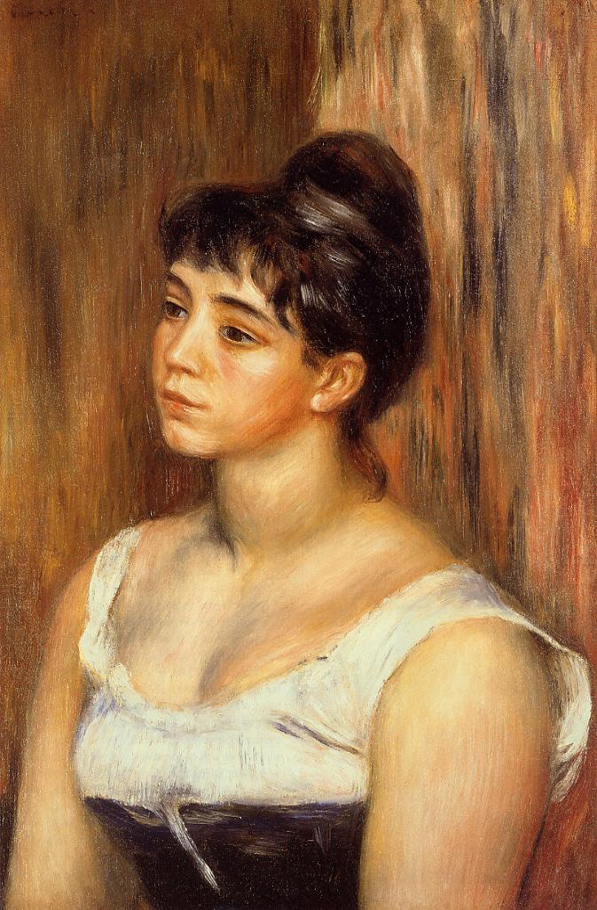 Suzanne Valadon 1885 | Pierre Auguste Renoir | Oil Painting