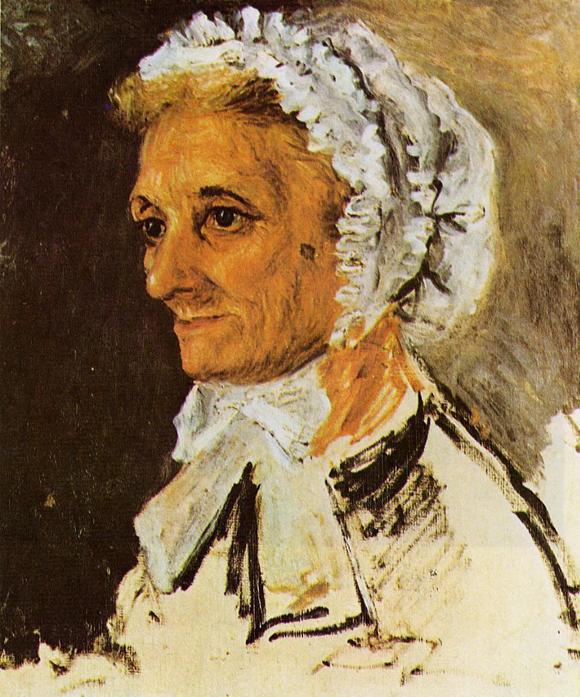 The Artists Mother 1860 | Pierre Auguste Renoir | Oil Painting