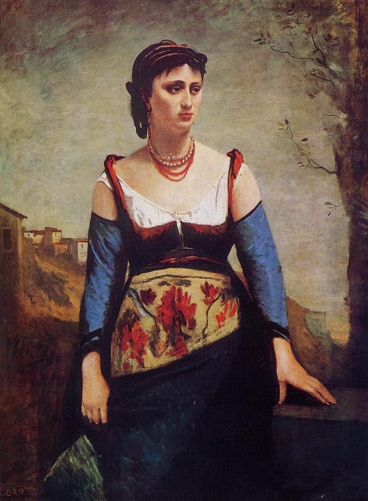 Agostina 1866 | Jean Baptiste Corot | Oil Painting