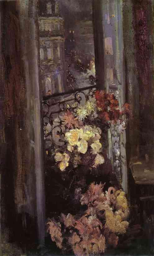 A Parisian Balcony 1908 | Bernardo Strozzi | Oil Painting
