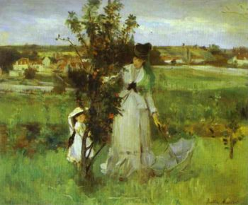 Hide And Seek 1873 | Berthe Morisot | Oil Painting