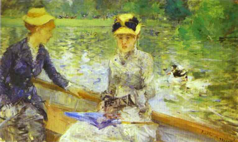 Summer Day 1879 | Berthe Morisot | Oil Painting