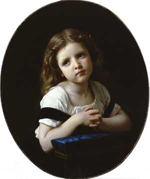 The Prayer | William Bouguereau | Oil Painting