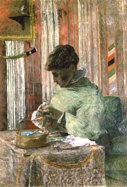 Mette Gauguin | Paul Gauguin | Oil Painting