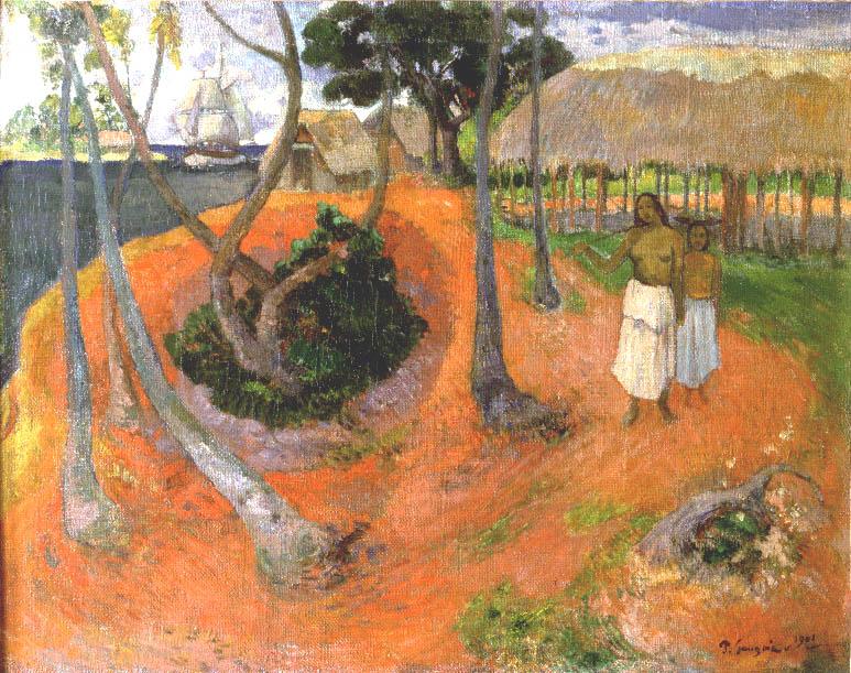 Idyll in Tahiti | Paul Gauguin | Oil Painting
