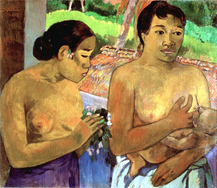 The Offering | Paul Gauguin | Oil Painting