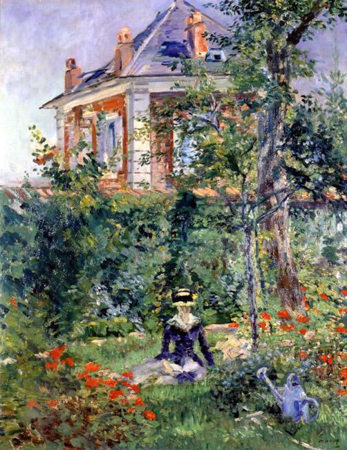 A Garden Nook at Bellevue | Eduard Manet | Oil Painting