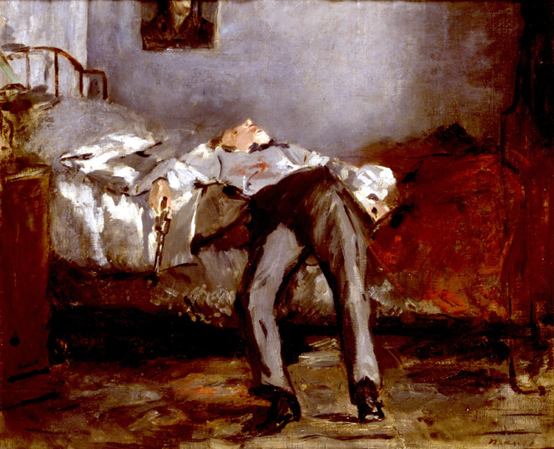 The Suicide | Eduard Manet | Oil Painting