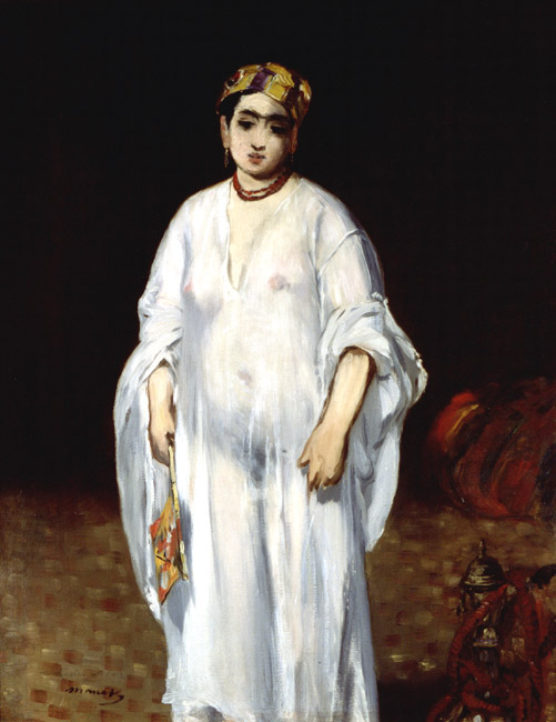 La sultane (Young Woman in Oriental Garb) | Eduard Manet | Oil Painting