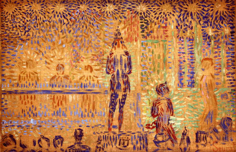 Study for Invitation to the Sideshow | Georges Seurat | Oil Painting