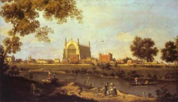 Eton College Chapel 1754 | Canaletto | Oil Painting