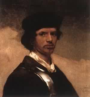 Self Portrait 1654 | Carel Fabritius | Oil Painting