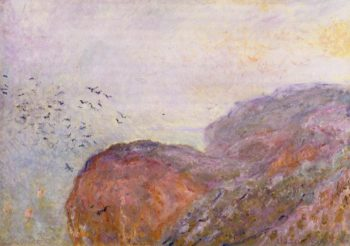 A Cliff near Dieppe 1896 | Claude Monet | Oil Painting