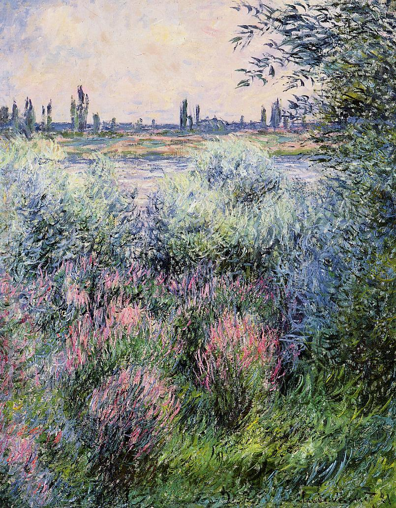 A Spot on the Banks of the Seine 1881 | Claude Monet | Oil Painting