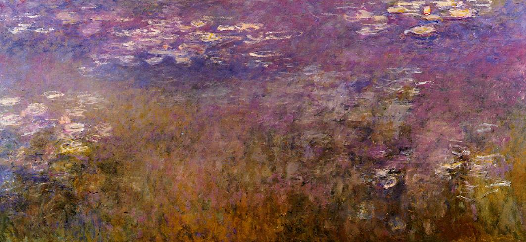 Agapanthus (right panel) 1920-1926 | Claude Monet | Oil Painting