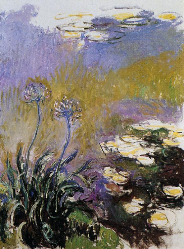 Agapanthus 1914-1917 | Claude Monet | Oil Painting