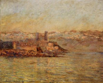Antibes and the Maritime Alps 1888 | Claude Monet | Oil Painting