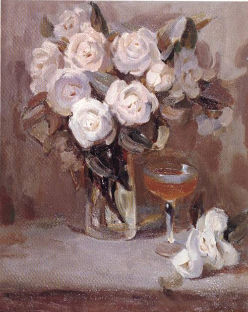 Camellia | Yong Xiang Xu | Oil Painting
