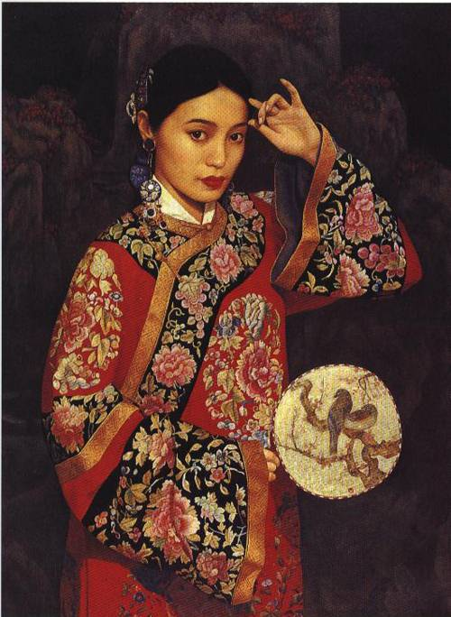 Eyes on You | Li Feng Di | Oil Painting
