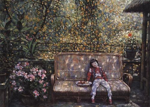 In My Yard II | Kai Xuan Wen | Oil Painting