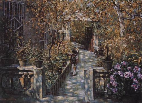 In My Yard I | Kai Xuan Wen | Oil Painting
