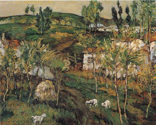 Landscape of Countryside | Wei Li Xung | Oil Painting
