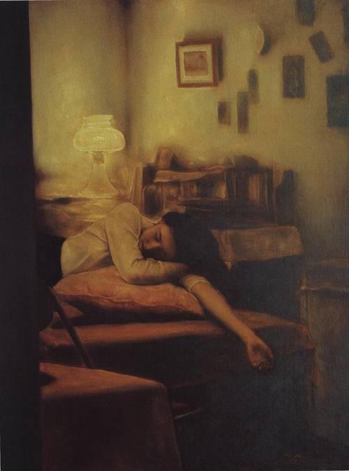 Light | Mao Kun Pang | Oil Painting
