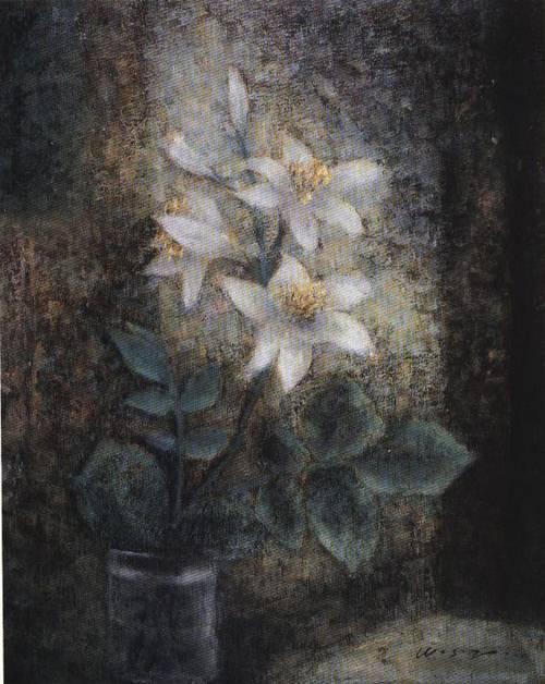 Lily | Sai Zhu Wang | Oil Painting