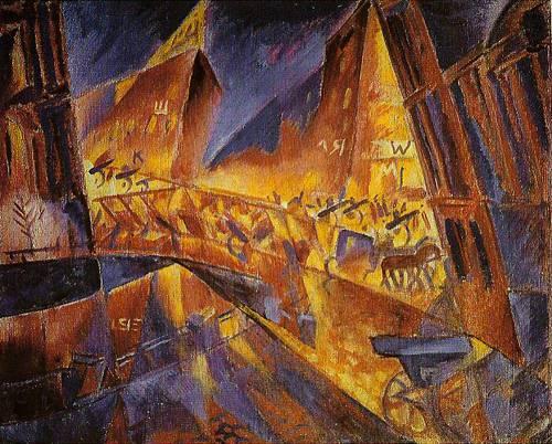 Contemporary Russian 35 | Ocean's Bridge Artist | Oil Painting