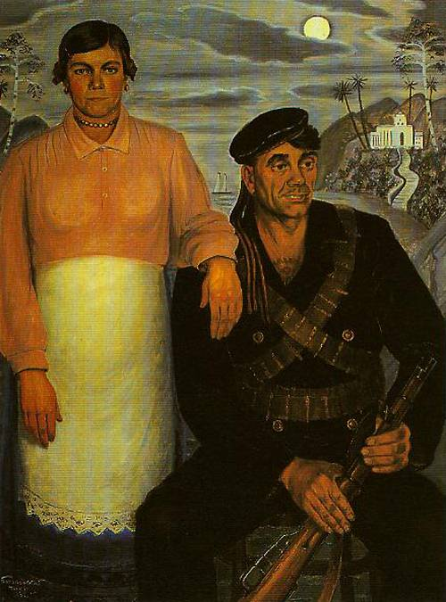 Contemporary Russian 118 | Ocean's Bridge Artist | Oil Painting