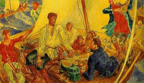 Contemporary Russian 126 | Ocean's Bridge Artist | Oil Painting