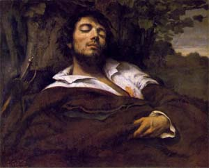 The Wounded Man | Gustave Courbet | Oil Painting