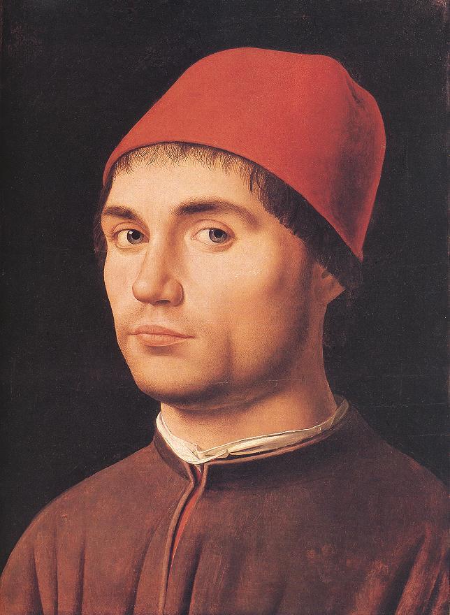 Portrait Of A Man 1475 | Da Messina Antonello | Oil Painting