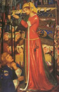 Before the Battle 1857 1858 | Dante Gabriel Rossetti | Oil Painting
