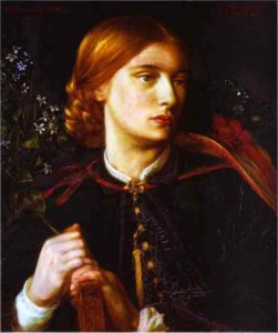 Portrait Of Maria Leathart 1862 | Dante Gabrie Rossetti | Oil Painting