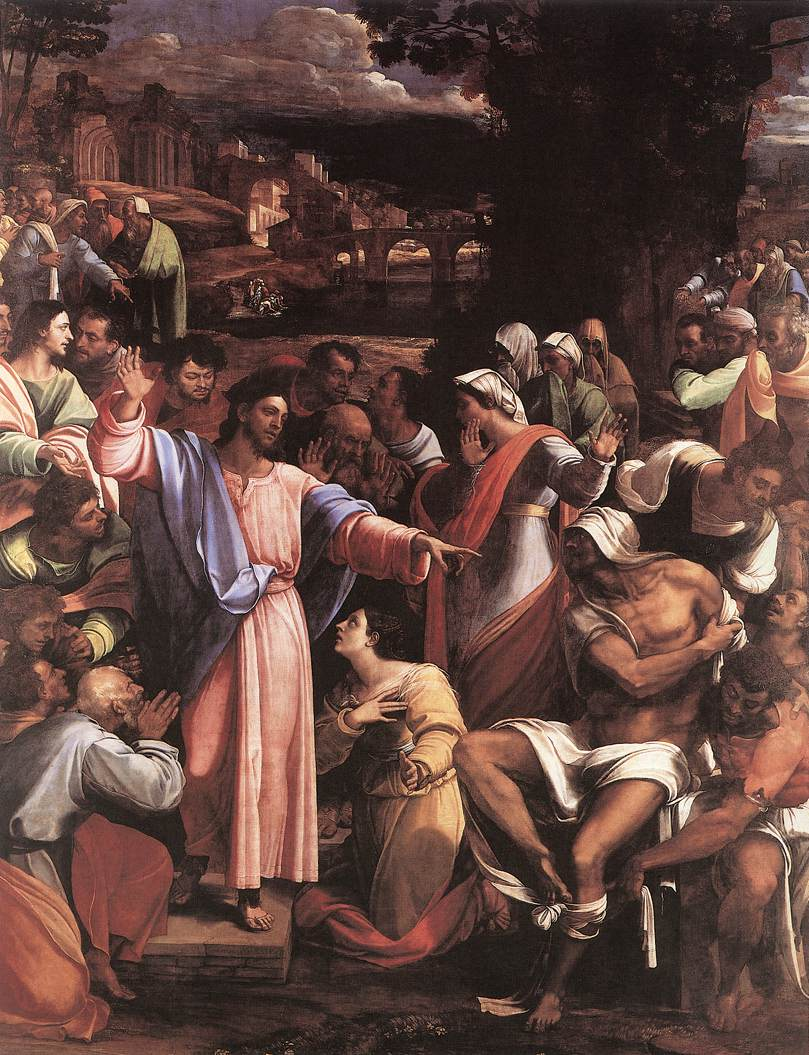The Raising Of Lazarus 1517-19 | Del Piombo Sebastiano | Oil Painting