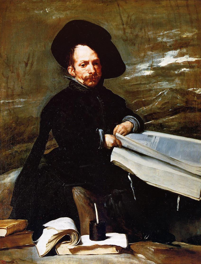 A Dwarf Holding a Tome in His Lap (aka Don Diego de Acedo el Primo) 1645 | Diego Velazquez | Oil Painting