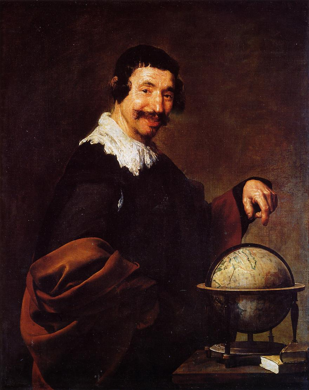 Democritus 1628 1629 | Diego Velazquez | Oil Painting