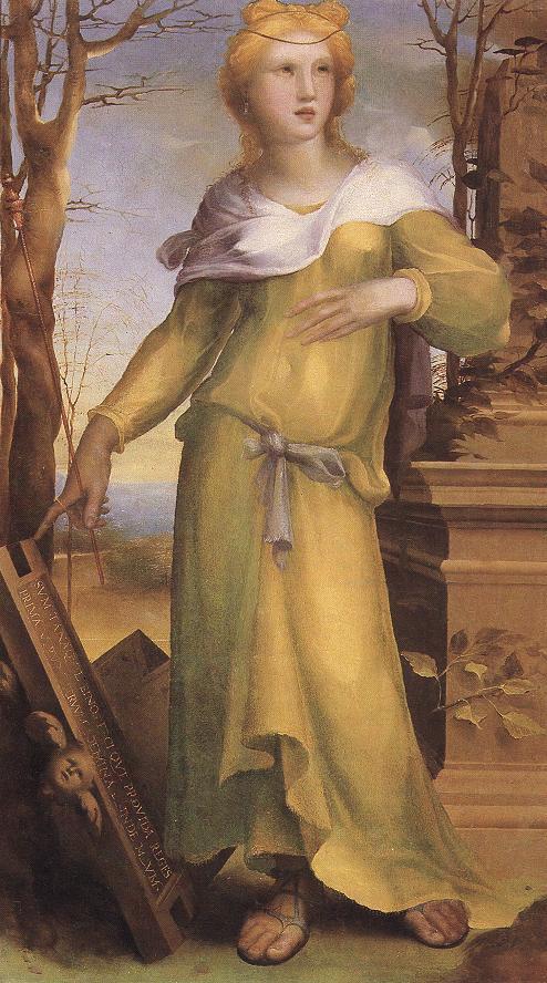 Tanaquil 1519 | Domenico Beccafumi | Oil Painting