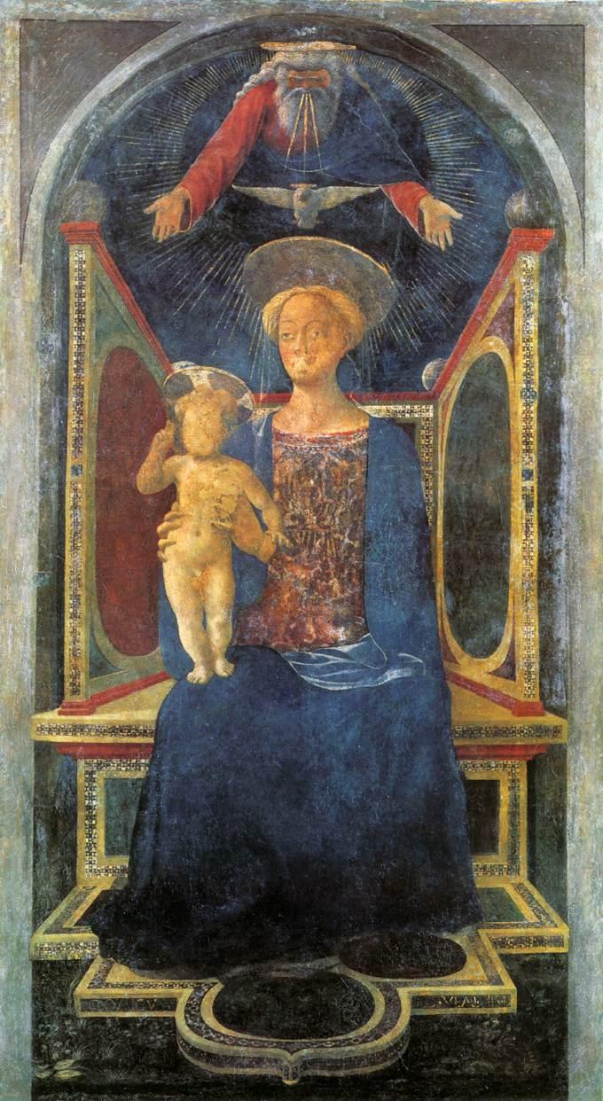 Madonna And Child 1435 | Domenico Di Michelino | Oil Painting