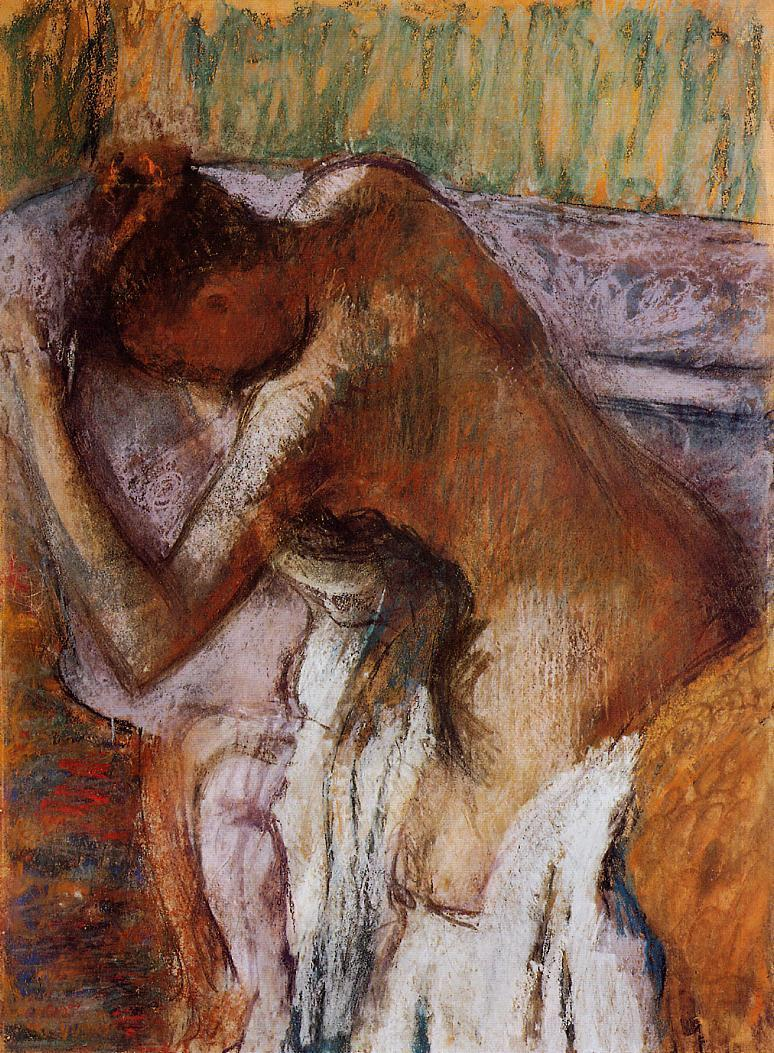 After the Bath 1900-1910 | Edgar Degas | Oil Painting