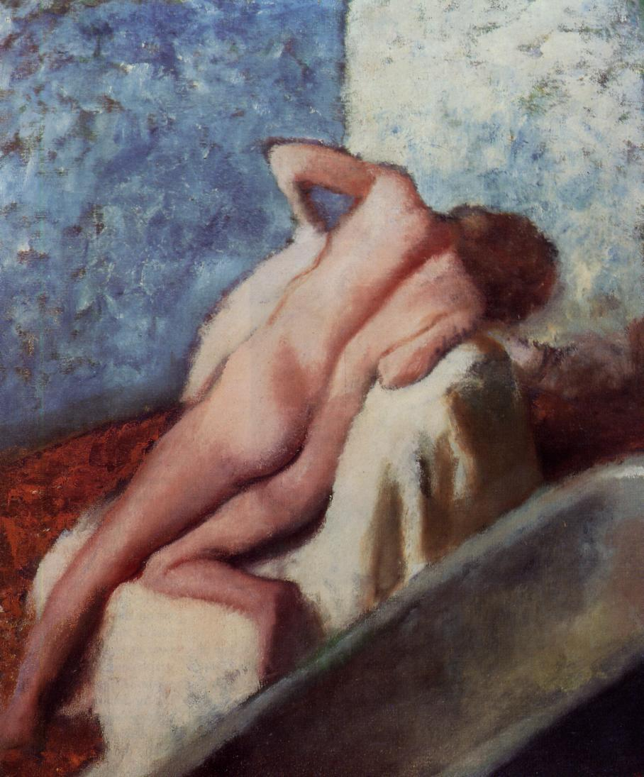 After the Bath 2 1896 | Edgar Degas | Oil Painting