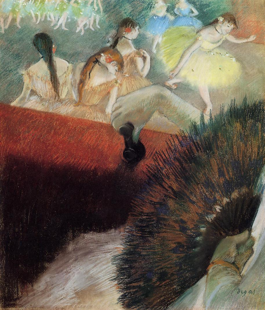 At the Ballet 1880-1881 | Edgar Degas | Oil Painting