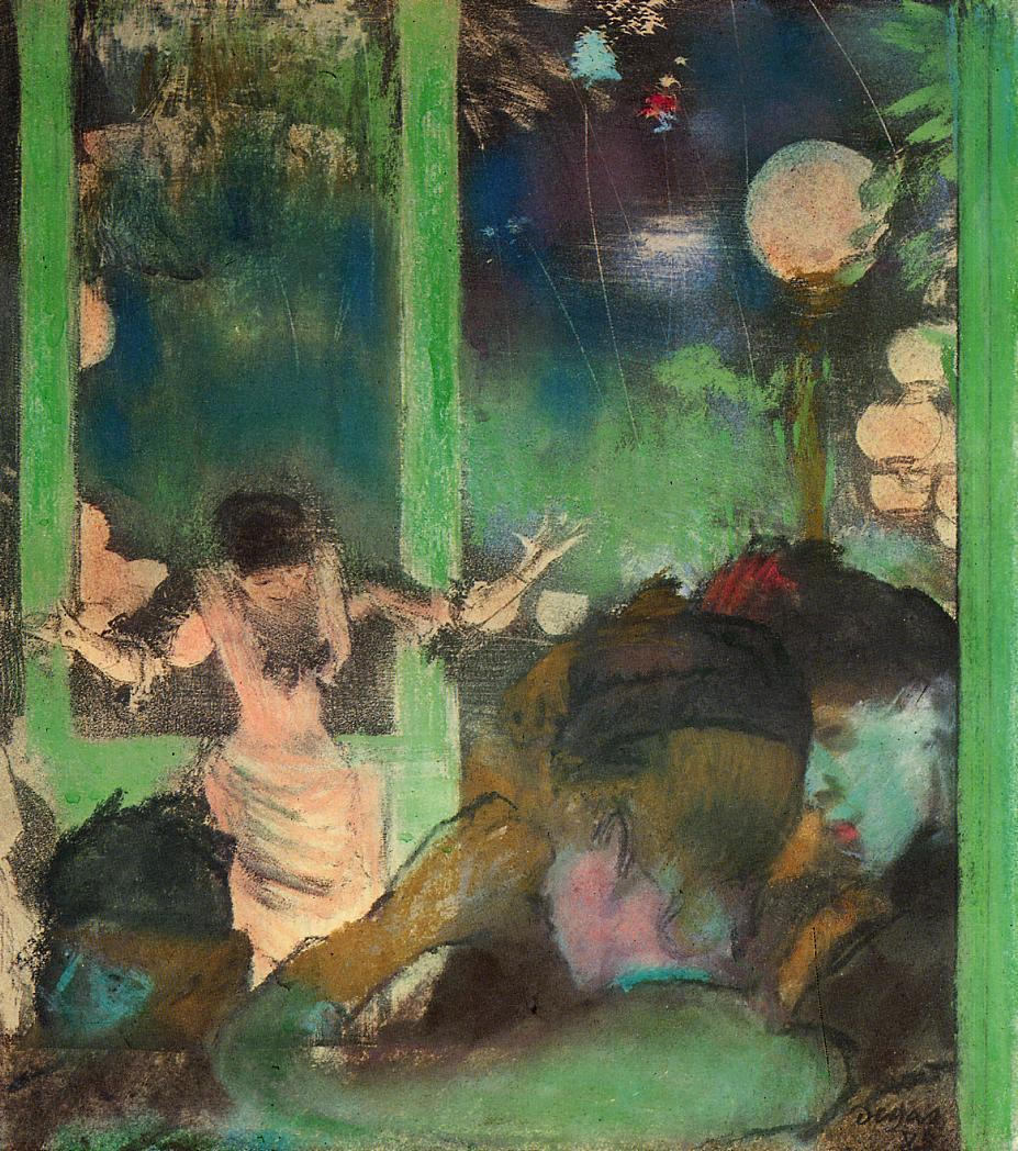 At the Cafe des Ambassadeurs 2 1885 | Edgar Degas | Oil Painting