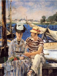 Argenteuil 1874 | Edouard Manet | Oil Painting
