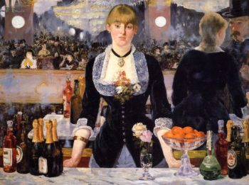 A Bar at the Folies Bergere 1881 1882 | Edouard Manet | Oil Painting