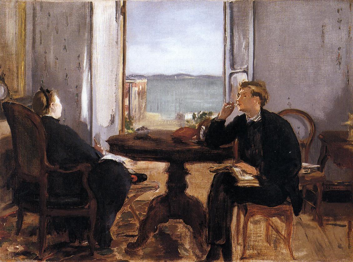 Interior at Arcachon 1871 | Edouard Manet | Oil Painting