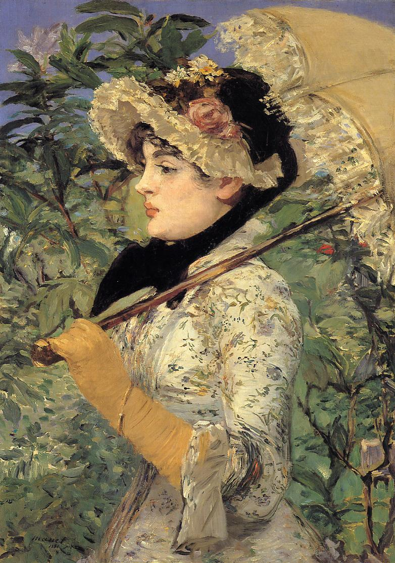Jeanne Spring 1881 | Edouard Manet | Oil Painting