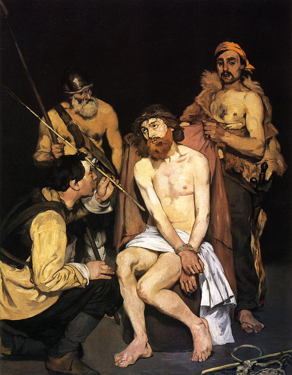 Jesus Mocked by the Soldiers 1864 1865 | Edouard Manet | Oil Painting