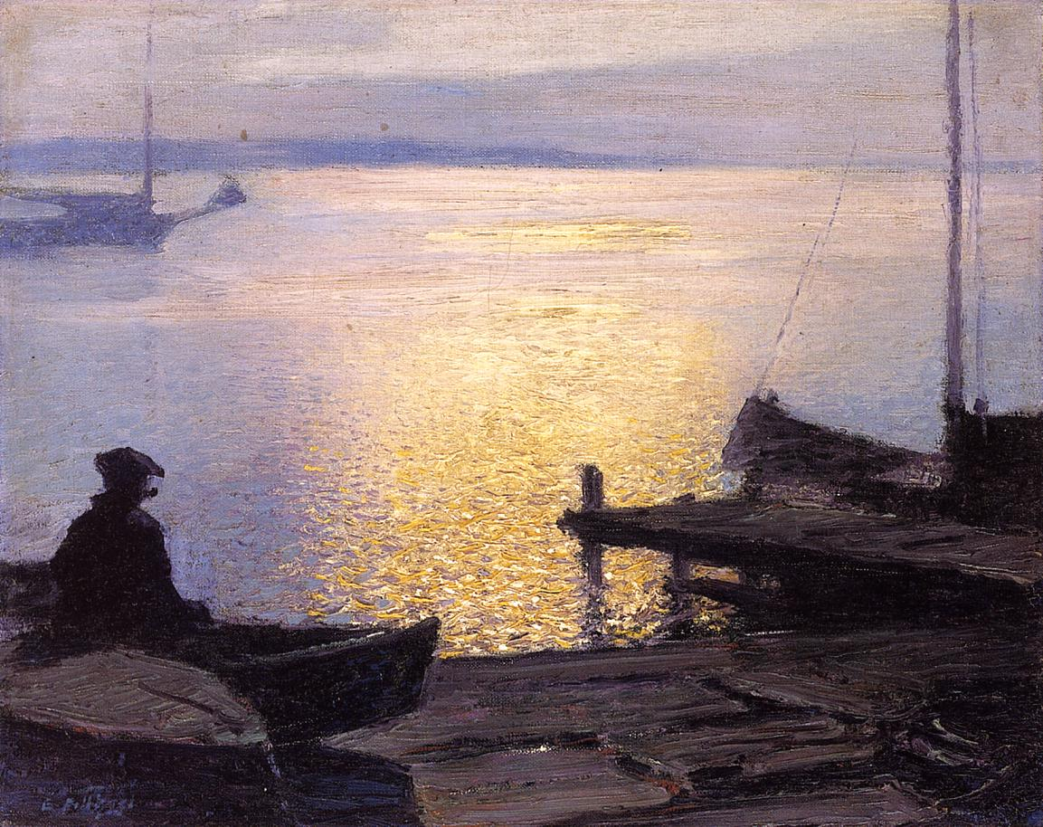 Edward Potthast Oil Paintings & Art Reproductions For Sale